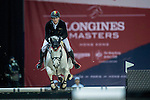 Nicola Philippaerts of Belgium riding on H&M Zilverstar T competes during the EEM Trophy, part of the Longines Masters of Hong Kong on 10 February 2017 at the Asia World Expo in Hong Kong, China. Photo by Juan Serrano / Power Sport Images