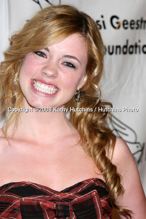 Molly Burnett  arriving at the Desi Geestman Foundataion Annual Evening with the Stars at the Universal Sheraton Hotel in Los Angeles, CA.October 11, 2008.©2008 Kathy Hutchins / Hutchins Photo...                .