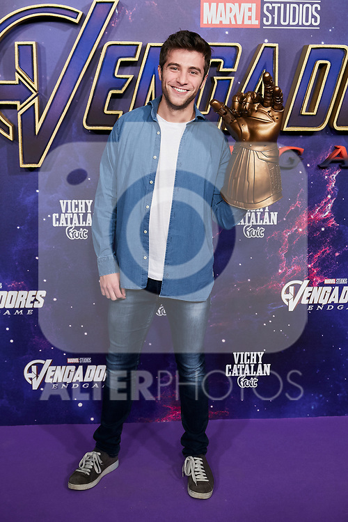 Pol Monen attends to Avengers Endgame premiere at Capitol cinema in Madrid, Spain. April 23, 2019. (ALTERPHOTOS/A. Perez Meca)