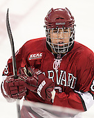 Hillary Crowe (Harvard - 8) - The Boston College Eagles defeated the visiting Harvard University Crimson 3-1 in their NCAA quarterfinal matchup on Saturday, March 16, 2013, at Kelley Rink in Conte Forum in Chestnut Hill, Massachusetts.