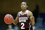 22 March 2015: Mississippi State's Morgan William. The Duke University Blue Devils hosted the Mississippi State University Bulldogs at Cameron Indoor Stadium in Durham, North Carolina in a 2014-15 NCAA Division I Women's Basketball Tournament second round game. Duke won the game 64-56.