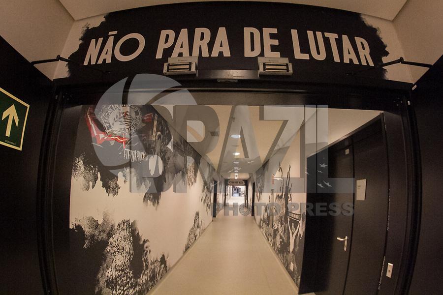 SÃO PAULO, SP, 21.12.2018 – CORINTHIANS – Vestiário do Corinthians, nesta sexta feira (21) na arena Corinthians na zona Lesta de São Paulo.(Foto: Danilo Fernandes/Brazil Photo Press)