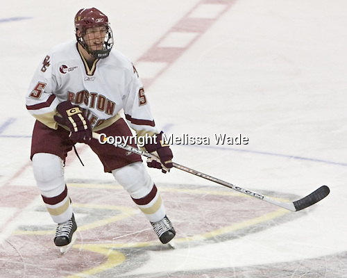 Tim Filangieri - Boston College defeated Merrimack College 3-0 with Tim Filangieri's first two collegiate goals on November 26, 2005 at Kelley Rink/Conte Forum in Chestnut Hill, MA.