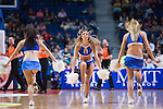 CHEERLEADERS. REAL MADRID - VIZKAIA BILBAO BASKET. Euroleague 2012. 01 Febrero. Palacio de los Deportes...© ALFAQUI FOTOGRAFIA