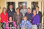 Killlarney Soroptimist President Anne Lucey presents various charities donations in the Killarney Royal Hotel Tuesday evening was front row l-r: Anne Lucey, Sheila O'Donoghue. Back row: Vera O'Leary Rape and Sexual Abuse Centre, Sean Farrell Order of Malta, Cllr: Sheila Casey Killarney Soroptimists, Alan Mee Golden Eagle Trust, Claire Looney Order of Malta, Terese Irwin Killarney Soroptimists and Margaret McCormack St Brigids Secondary School