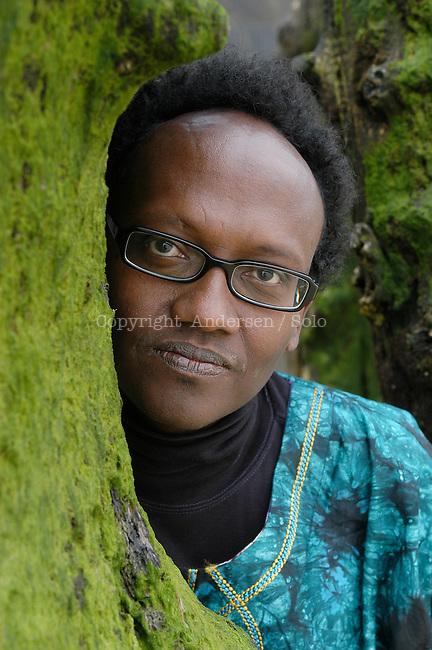 Abdourahman Waberi, in Saint Malo, 2005.