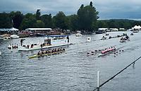 Henley Royal Regatta, Henley on Thames, Oxfordshire, 28 June - 2 July 2017.  Thursday  15:47:27   29/06/2017  [Mandatory Credit/Intersport Images]<br /> <br /> Rowing, Henley Reach, Henley Royal Regatta.<br /> <br /> The Thames Challenge Cup<br />  Thames Rowing Club 'B' v  Kingston Rowing Club