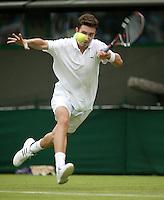 27-6-06,England, London, Wimbledon, first round match, Bogdavovic