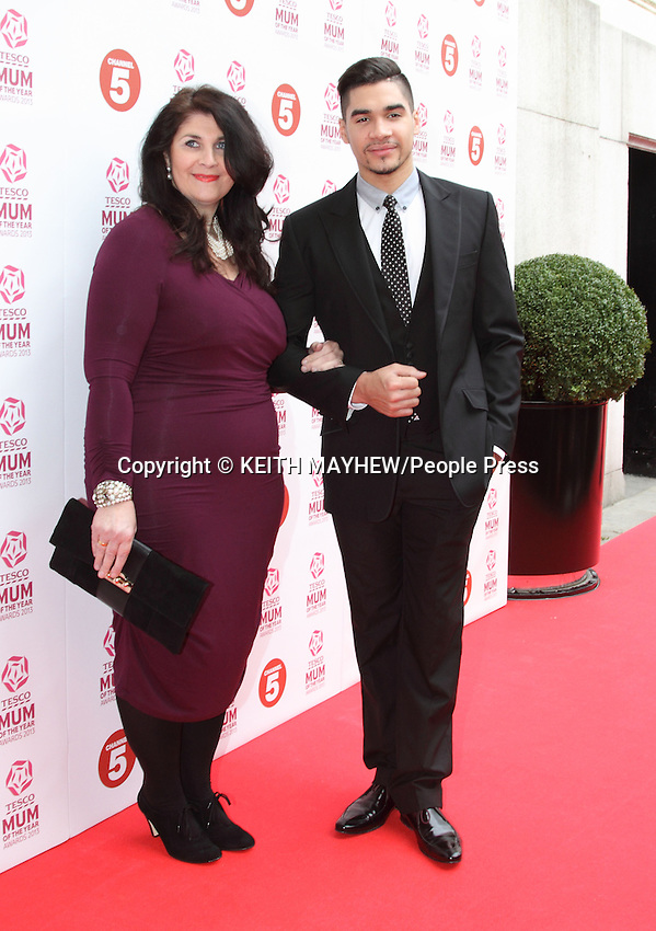 London - Tesco Mum of the Year Awards at The Savoy Hotel, The Strand, London - March 3rd, 2013<br /> <br /> Photo by Keith Mayhew