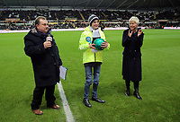 Sunday, 28 November 2012<br /> Pictured: John Hartson with Rickshaw Challenge for the BBC One Show<br /> Re: Barclays Premier League, Swansea City FC v West Bromwich Albion at the Liberty Stadium, south Wales.