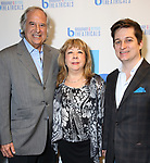 Victoria Lang, Stewart F. Lane and Ryan Bogner attend BroadwayHD debuted their slate of digital captures with Broadway & Beyond Theatricals at The APAP Conference  on January 912, 2020 at The Hilton Hotel Midtown in New York City.