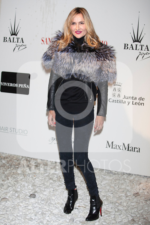 Clara Courel attends Santiago Palacio´s fashion show in Madrid, Spain. November 13, 2014. (ALTERPHOTOS/Victor Blanco)