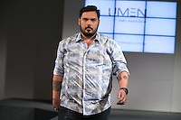 SÃO PAULO, SP, 24.07.2016 - MODA-SP - Desfile da marca Umen durante o 14 Fashion Weekend Plus Size que acontece neste domingo, 24 no Centro de Convenções Frei Caneca. (Foto: Ciça Neder/Brazil Photo Press)
