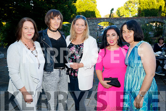 Siobhan Creedon Maria Clifford Grainne Stack Theresa Walker and Jackie Gavaghan, pictured at the IT Tralee Barbecue at the Meadowlands Hotel, Tralee on Saturday night last.