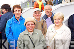Nora Brosnan (Cordal) Saudah O'Brien (Ardfert) Willie Woulfe (Templeglantine) Pat Harris (Killarney) and Helen O'Hara (Ardfert) pictured at Ballyheigue Pattern day on Sunday.