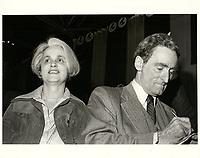 Claude Ryan et sa femme,  le 5 mars 1978, durant la campagne a la chefferie du PLQ <br /> <br /> <br /> <br /> PHOTO :  Agence Quebec Presse