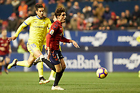 Nacho Vidal (defender; CA Osasuna) during the Spanish football of La Liga 123, match between CA Osasuna and AD Alcorcón at the Sadar stadium, in Pamplona (Navarra), Spain, on Sunday, January 6, 2019.