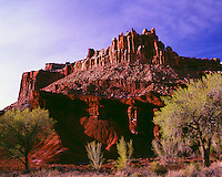 The Castle Capitol Reef National Park Utah