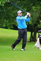 Daniel Murphy (Portarlington) on the 3rd tee during round 1 of The Mullingar Scratch Cup in Mullingar Golf Club on Sunday 3rd August 2014.<br /> Picture:  Thos Caffrey / www.golffile.ie