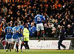 Eduardo Herrera celebrates to the Rangers fans