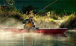 Fall kayak, Springdale Farms spring pond , fly fishing