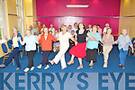 Killarney active retirement group dance teacher Natalie Russell centre shows them some steps in the KDYS on Friday..