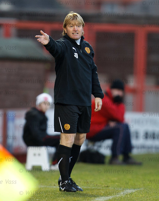 Stuart McCall on the sidelines