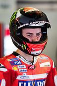 June 9th 2017, Circuit de Catalunya, Barcelona, Spain; Catalunya MotoGP; Friday Practice Session; Jorge Lorenzo of Ducati Team during the FP1