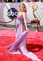 US actress Leann Hunley arrives at the 35th Annual Daytime Emmy Awards held at the Kodak Theatre in Los Angeles on June 20, 2008.