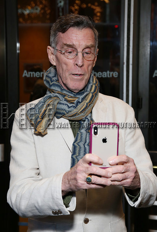 "John Glover Attends the Broadway Opening Night of ""All My Sons"" at The American Airlines Theatre on April 22, 2019  in New York City."