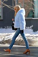 www.acepixs.com<br /> <br /> March 16 2017, New York City<br /> <br /> Swedish model and Victoria's Secret Angel Elsa Hosk bundles up against the cold as she walks in tribeca on March 16 2017 in New York City<br /> <br /> By Line: Curtis Means/ACE Pictures<br /> <br /> <br /> ACE Pictures Inc<br /> Tel: 6467670430<br /> Email: info@acepixs.com<br /> www.acepixs.com
