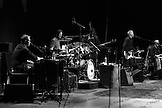 Todd Caldwell - organ, James Raymond - Piano, Shane Fontayne - lead guitar, Kevin McCormick - bass and Steve DiStanislao - drums with Crosby, Stills & Nash at Max-Schmeling-Halle, Berlin, Germany.