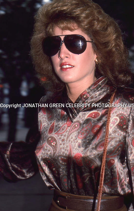 Jessica Hahn 1987  by Jonathan Green