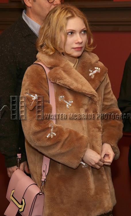 Tavi Gevinson attends the unveiling of the Kenneth Lonergan caricature at Sardi's on February 17, 2017 in New York City.