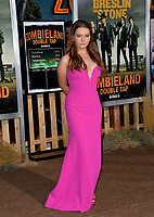 "LOS ANGELES, USA. October 11, 2019: Abigail Breslin at the premiere of ""Zombieland: Double Tap"" at the Regency Village Theatre.<br /> Picture: Paul Smith/Featureflash"