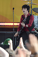 www.acepixs.com<br /> May 19, 2017 New York City<br /> <br /> Billie Joe Armstrong of Green Day performing on Good Morning America Central Park on May 19, 2017 in New York City.<br /> <br /> Credit: Kristin Callahan/ACE Pictures<br /> <br /> Tel: 646 769 0430<br /> e-mail: info@acepixs.com