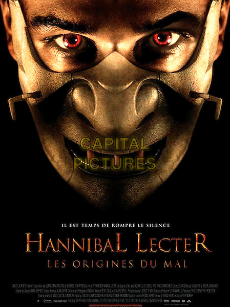 FRENCH POSTER ART.in Hannibal Rising .**Editorial Use Only**.CAP/FB.Supplied by Capital Pictures