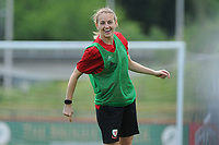 Kayleigh Green of Wales Women during the Wales Women Training Session at the Cardiff International Sports Stadium in Cardiff, Wales, UK. Monday 03 June 2019