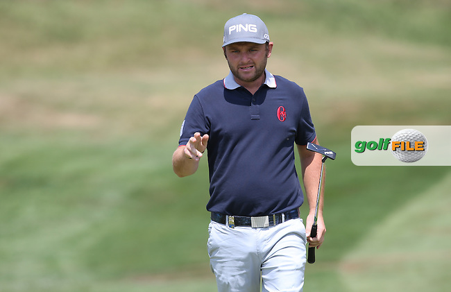 Andy Sullivan (ENG) makes birdie on the 3rd during Round Three of the 2015 Alstom Open de France, played at Le Golf National, Saint-Quentin-En-Yvelines, Paris, France. /04/07/2015/. Picture: Golffile | David Lloyd<br /> <br /> All photos usage must carry mandatory copyright credit (&copy; Golffile | David Lloyd)