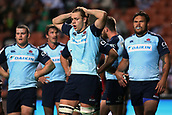 June 3rd 2017, FMG Stadium, Waikato, Hamilton, New Zealand; Super Rugby; Chiefs versus Waratahs;  Dejected Waratahs players after conceding a try during the Super Rugby rugby match