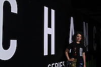 LOS ANGELES, CA - OCTOBER 17: Stefania LaVie Owen attends the premiere of Hulu's 'Chance' at Harmony Gold Theatre on October 17, 2016 in Los Angeles, California. (Credit: Parisa Afsahi/MediaPunch).