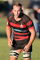 Tom Christie captain of the 2018 New Zealand Under 20 World Rugby team playing for the Christchurch Club against University at Christchurch Park, Christchurch, New Zealand on Saturday, 7 July 2018. Photo: Martin Hunter  / lintottphoto.co.nz