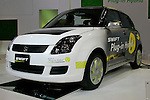 Suzuki Swift Plug-in on display during the first press day for the 41th Tokyo Motor Show, 21 October 2009 in Tokyo (Japan). The TMS will be open for the public from 23 October 2007 to 4 November 2009.