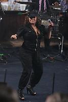 Jenny Rivera murio el dia de hoy en un accidente de Avion.<br /> Jenny Rivera ,la diva de la banda durante una de sus presentaciones en Hermosillo, Mexico.<br /> (nortephoto@gmail.com/NortePhoto)
