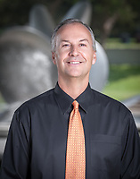 Brian Newhall, Head Men's Basketball Coach/Asst. AD. Occidental College Athetics Dept. coaches and staff, August 20, 2009. (Photo by Marc Campos, Occidental College Photographer)