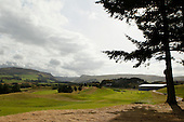 The tear-down of the build following the 2014 Ryder Cup which was played over the PGA Centenary Course at Gleneagles from 23rd to 28th September 2014: Picture Stuart Adams www.golftourimages.com: 2nd October 2014