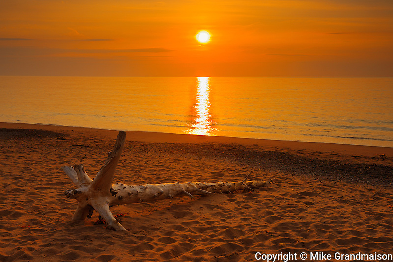 Sunrise on Aspy Bay<br /> Cape Breton Island<br /> Nova Scotia<br /> Canada