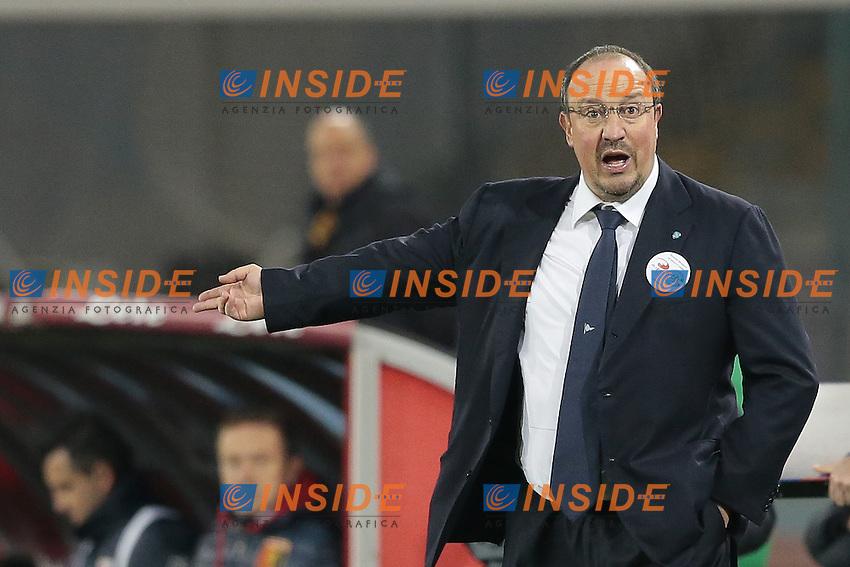 Rafael Benitez Napoli,  <br /> Napoli 26-01-2015 Stadio San Paolo <br /> Football Calcio Serie A Napoli SSC- Genoa CFC<br /> Foto Cesare Purini / Insidefoto