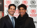 "Arionel Vargas, one of the stars of the film ""Love Tomorrow"" attends the world premiere alongside The Royal Ballet star Carlos Acosta at the 20th Raindance Film Festival, London"