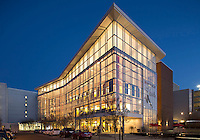 DPAC Durham Performing Arts Center, Durham, NC (Szostak Design = architect) evening opening